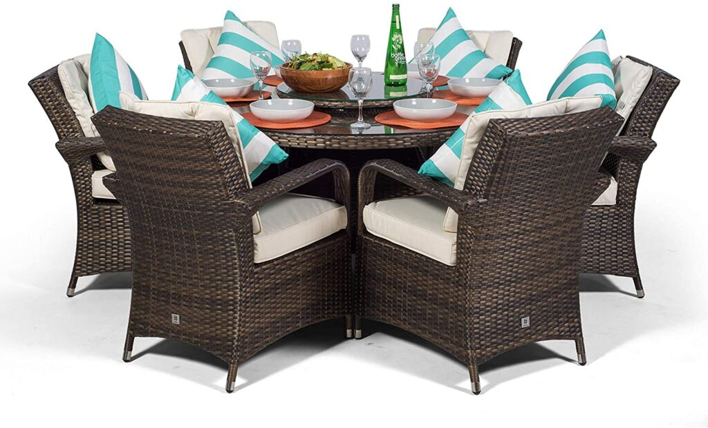 comfortable dining set