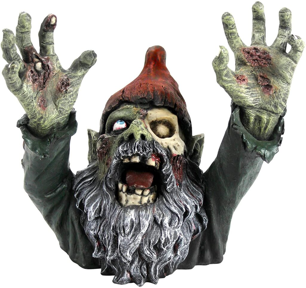 zombie gnome for gazebo